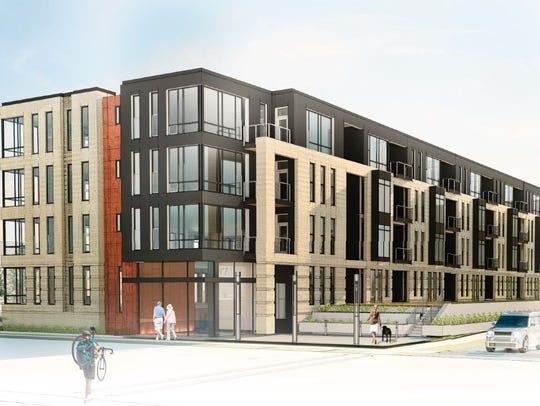 United Development, Bayland Buildings and Engberg Anderson Architects will break ground on phase one of 200 market-rate apartments in four buildings at 791 Morris Ave., in Ashwaubenon.