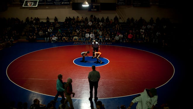 West Henderson hosts the Falcon Frenzy tournament every season.