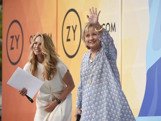 Laurene Powell Jobs,Hillary Rodham Clinton