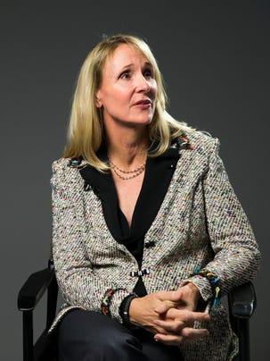 Nancy Hogshead-Makar is an Olympic gold-medal swimmer