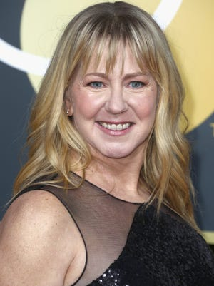 Tonya Harding attends the 75th Annual Golden Globe Awards at The Beverly Hilton Hotel on Jan. 7.