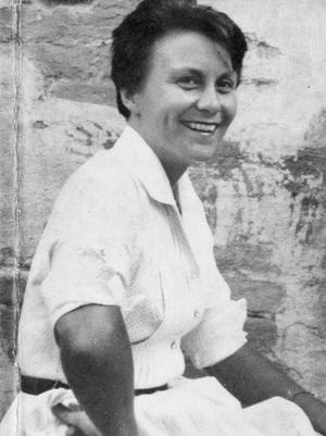 Harper Lee in the 1950s, when she wrote both her of books.