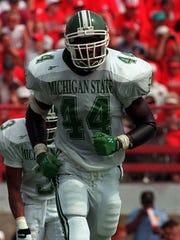MSU linebacker Ike Reese