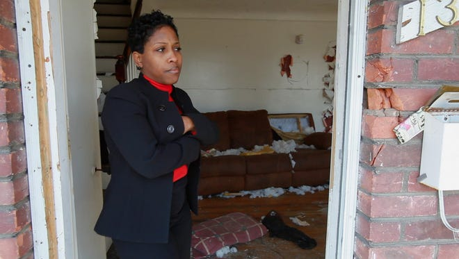 Kenyetta Wilbourn Snapp pictured on Tuesday, March 6, 2012.