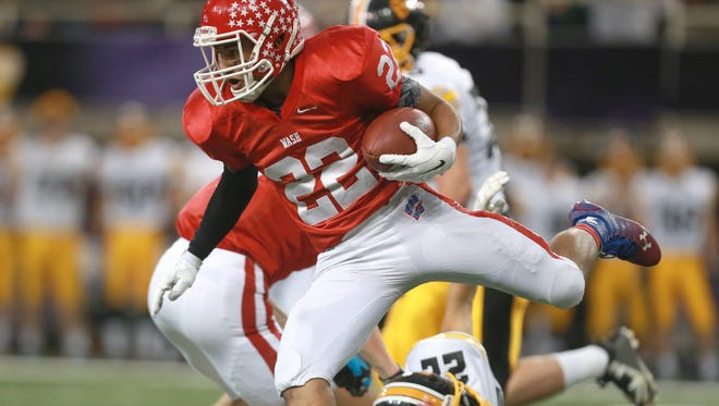 Cedar Rapids Washington returns running backs Tavian Patrick (pictured) and Johnny Dobbs from its 2014 Class 4A runner-up team.