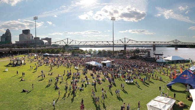 Forecastle Festival at Louisville Waterfront Park.
