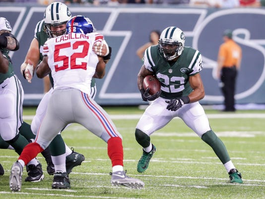 NFL: Preseason-New York Giants at New York Jets