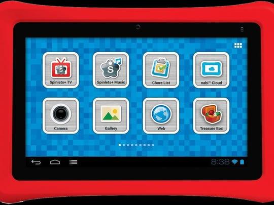 The Nabi tablet for kids