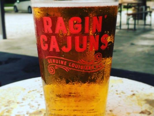 Ragin' Cajun Pint Glass
