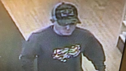 Melbourne police are searching for a suspect they stole cash and painkillers from a Melbourne pharmacy.