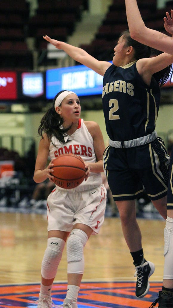 Somers' Somers' Dani DiCintio is pressured by Susquehanna's