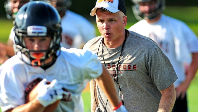 West De Pere coach Jack Batten has turned to a freshman to help lead the offense this season.