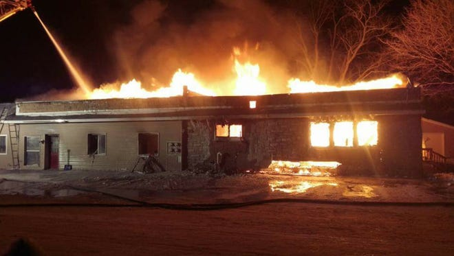 An apartment building located at 112 Rocky Road in Duvall was destroyed during a fire Dec. 18.
