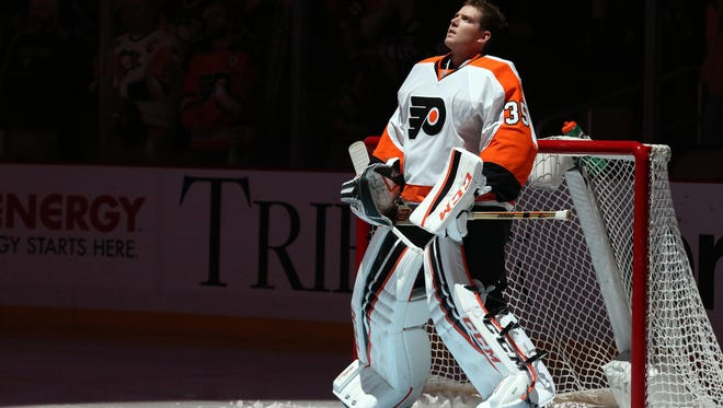 Steve Mason was ruled out for Wednesday's game in Washington.