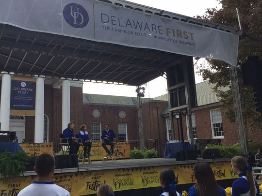 The University of Delaware held an event Thursday afternoon