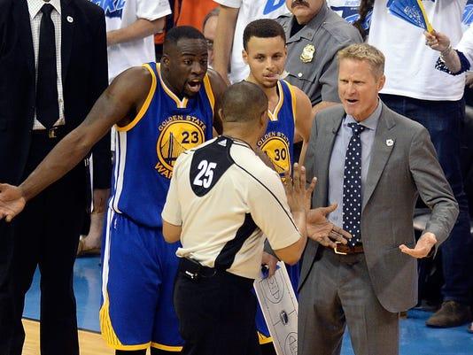 NBA: Playoffs-Golden State Warriors at Oklahoma City Thunder