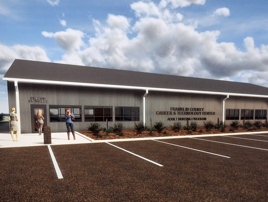 Franklin County Practical Nursing Program held a groundbreaking