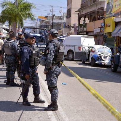 Elementos de la división Gendarmería de la Policía