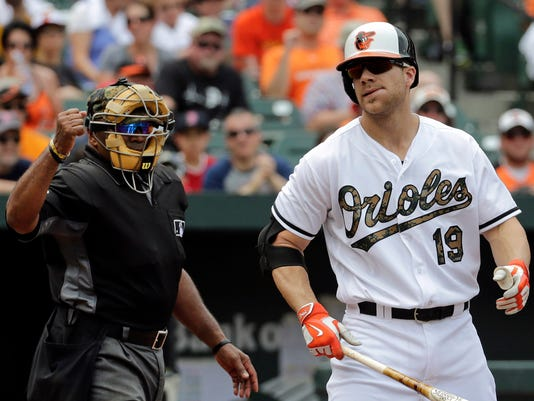 Chris Davis, Laz Diaz