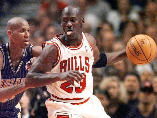 1997-98: Michael Jordan, Chicago Bulls (fifth)