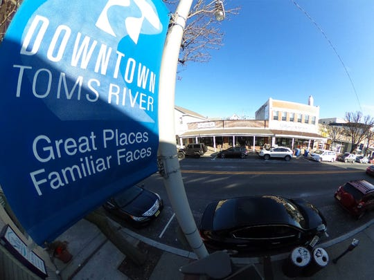 Main Street in downtown Toms River is shown in this flatened 360 degree image Thursday, February 8, 2018.