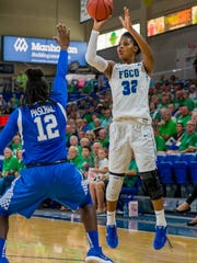 FGCU leading scorer Rosemarie Julien and the Eagles