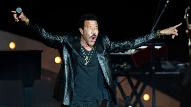 Lionel Richie performs in concert at Cynthia Woods Mitchell Pavilion on Oct. 12, 2013, in The Woodlands, Texas.