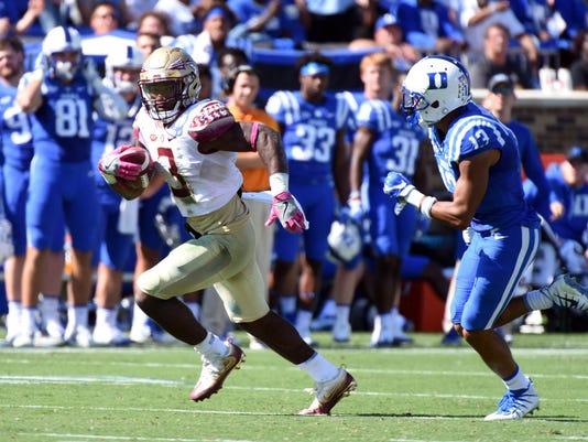 NCAA Football: Florida State at Duke