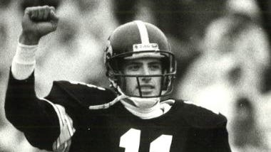 Jeff Skillett had an extra point blocked but made a second-half field goal in 1991 against Ohio State.