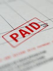 File Illustration Image - Bills, Invoices