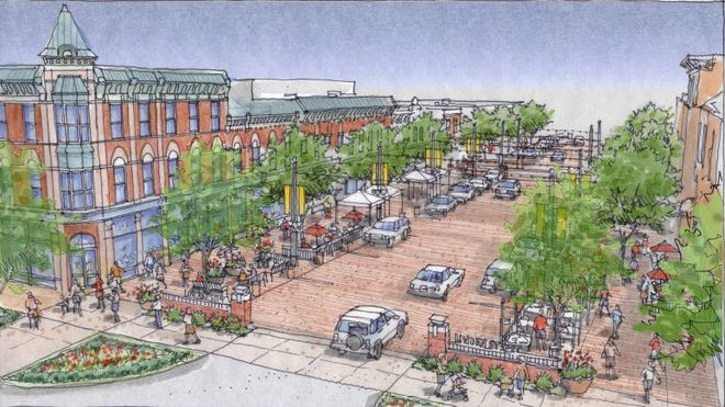 Funded by a sales tax initiative passed by voters in 2015, Linden Street between Old Town Square and Jefferson Street will be upgraded next year transforming the street into a pedestrian plaza for special events, but maintaining a two-way street most of the time. Construction on the $3.5 million project is expected to begin next summer.