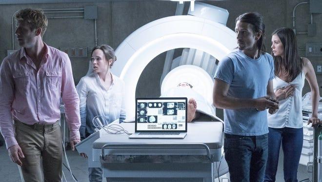 """James Norton, Ellen Page, Diego Luna abd Nina Dobrev star in """"Flatliners."""""""