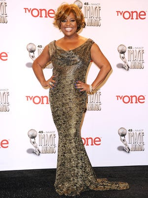 Sherri Shepherd poses in the press room at the 45th NAACP Image Awards on Feb. 22.