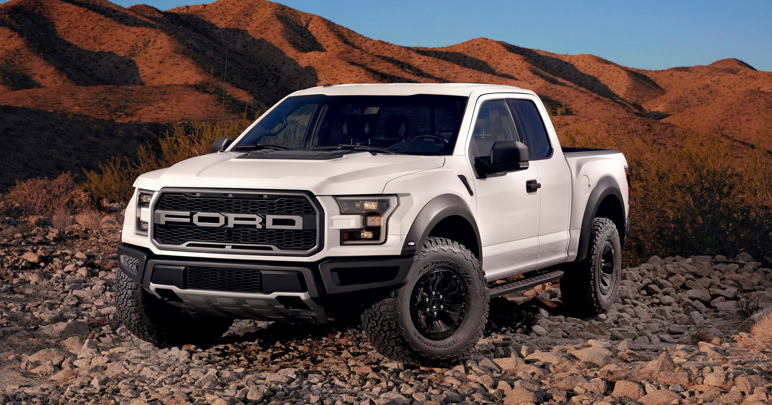 2017 ford f 150 raptor pickup truck is smart tough capable