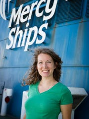 Middle Tennessean Katie Keegan is a photographer with the Mercy Ships international medical mission.