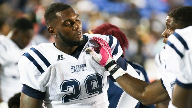 Jackson State's Javancy Jones could be the first Tiger drafted since 2008.