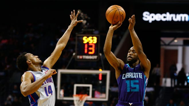 Kemba Walker has averaged at least 20 points and five assists in three straight seasons, and has been named an All-Star the past two seasons.