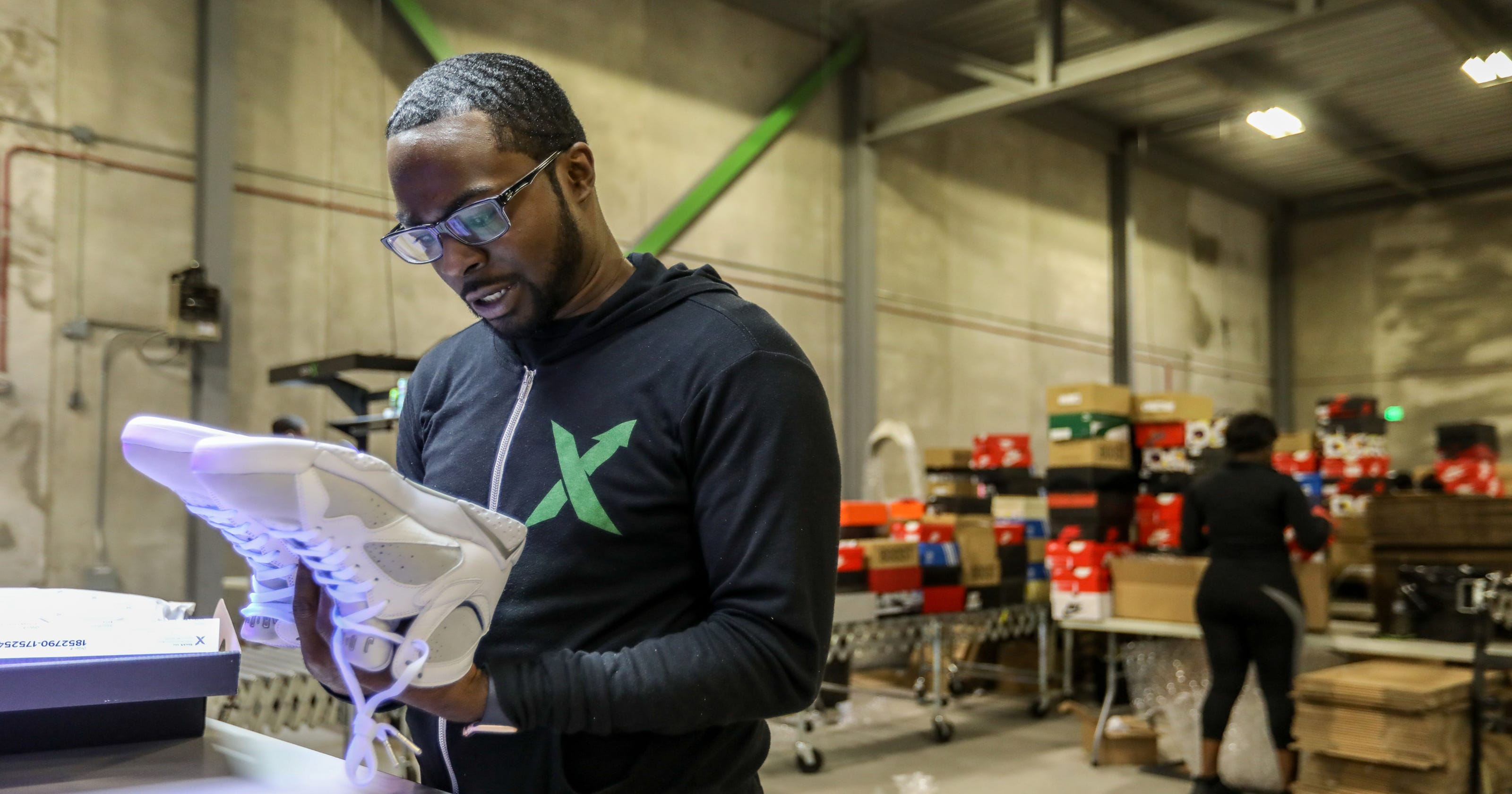 Fast-growing Detroit startup StockX sniffs out fake sneakers a091e7551
