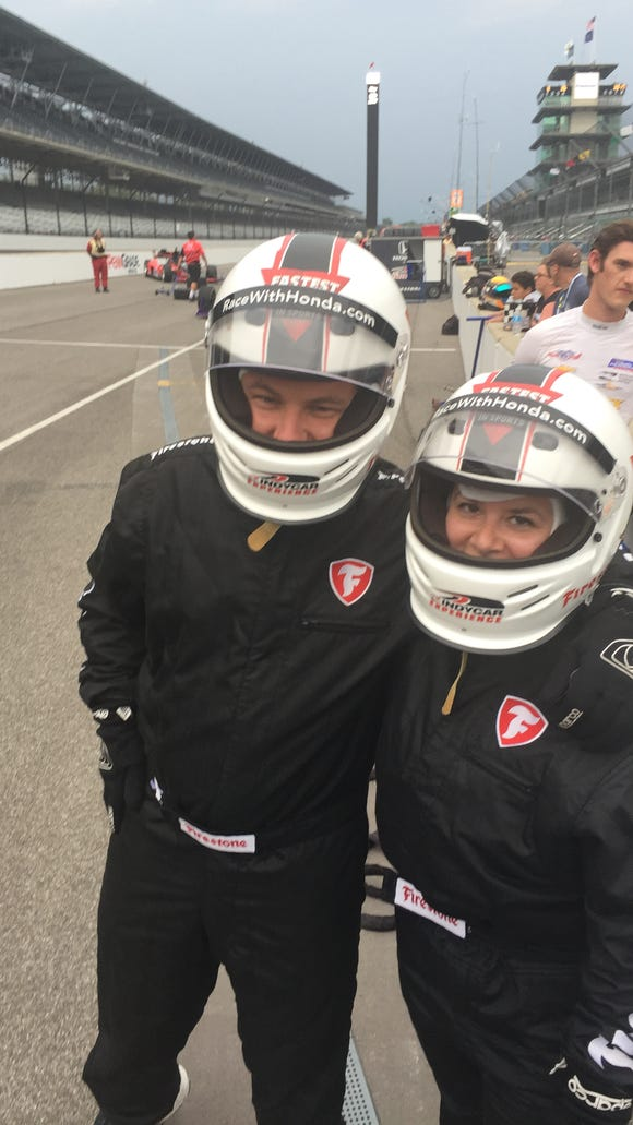 What I learned from a 180 mph tour of the Indy 500 track at the Brickyard