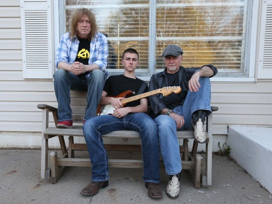 Left to right: Royce Johns, Steve Treanor and Buddy