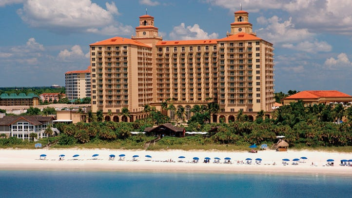 The Ritz-Carlton, Naples, has again scored Forbes Travel