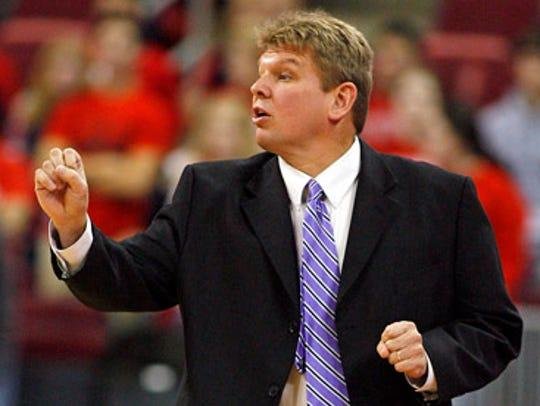 Tennessee Tech coach Steve Payne