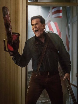 "Bruce Campbell in ""Ash vs Evil Dead."""