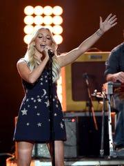 Ashley Monroe performs in April in Arlington, Texas.