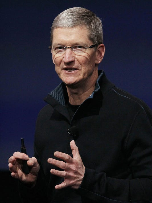 (FILE) Apple CEO Tim Cook Publicly Confirms He Is Gay