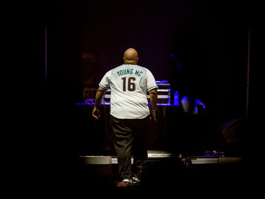 Young MC Entertains The Crowd During I Love