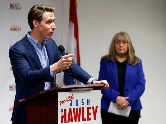 Republican Josh Hawley