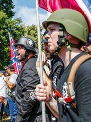 Matt Heimbach, a white nationalist who calls Indiana