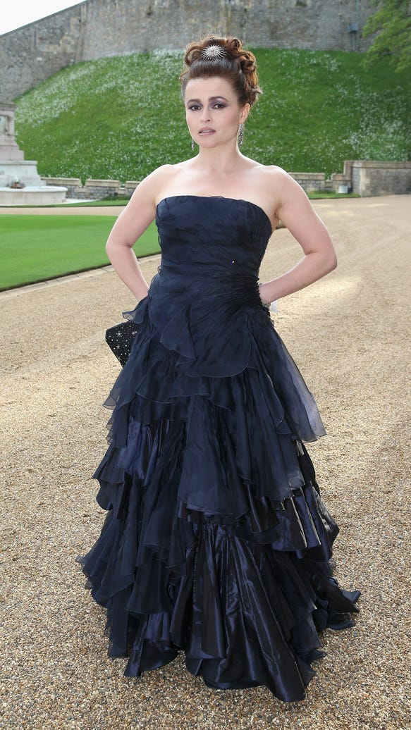 Helena Bonham Carter Windsor Castle