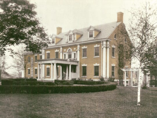 The Corbett Mansion in 1925 became the first home of Our Lady of Lourdes Hospital started by the Daughters of Charity.